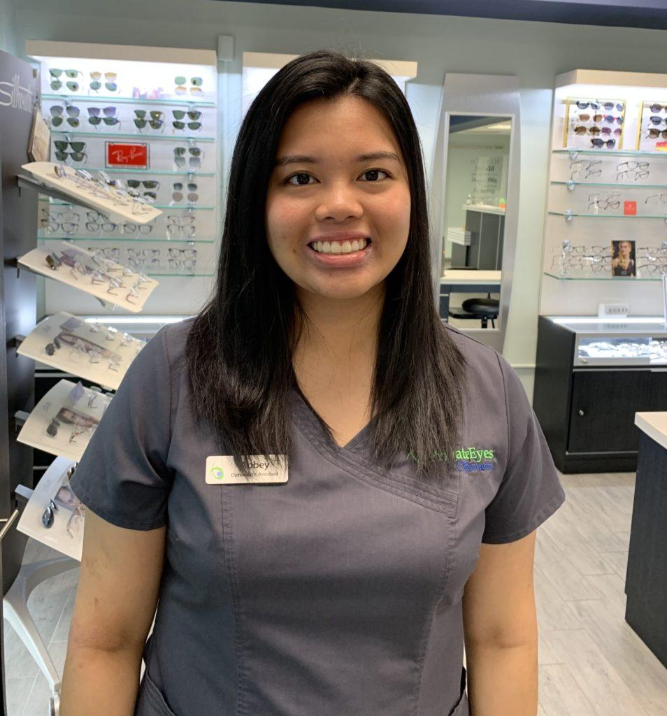 Abbey Fernandez Optometric Assistant