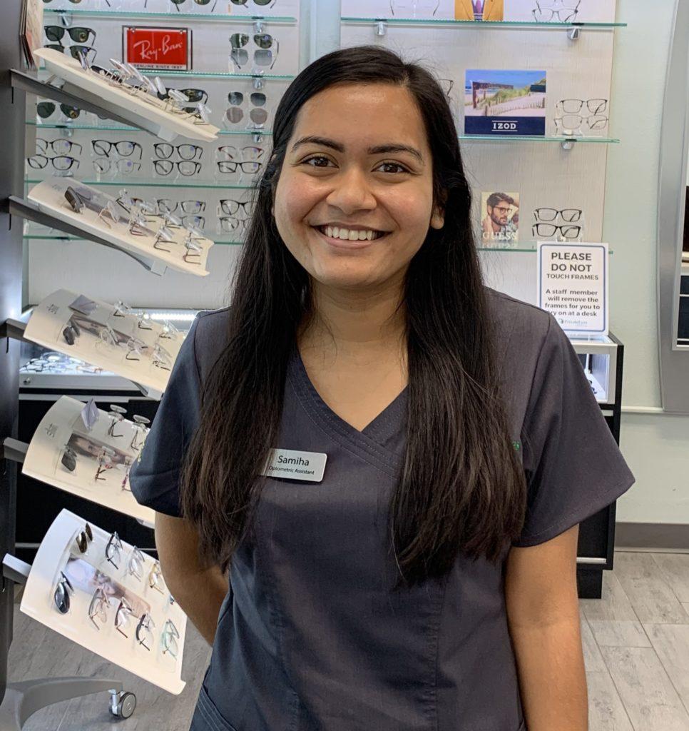 Samiha Ali Optometric Assistant